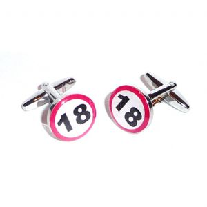 Special Birthdays Cufflinks 18 21 30